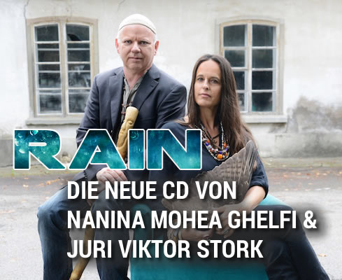 RAIN - die neue CD von Nanina Mohea Ghelfi & Juri Viktor Stork